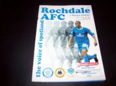 Rochdale v Boston United, 2003/04
